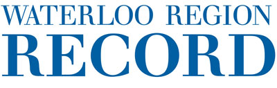 The waterloo region Record Logo